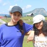 Clara et Roxanne deux féés à Avoriaz